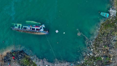貴州六枝一客船側翻 12人不幸遇難三人仍失蹤
