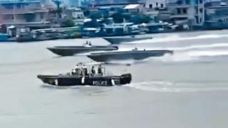【有片】兩地警方已鎖定元兇將聯手掃蕩 粵警追捕走私犯短片曝光