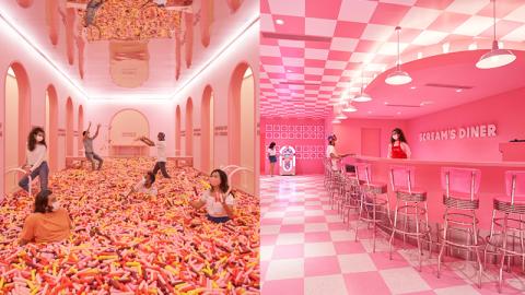 【日常滋味】雪糕美食+粉紅色打卡區-夢幻雪糕博物館登陸新加坡