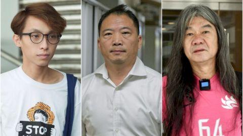 陳皓桓胡志偉等七人涉七一非法遊行 各囚六至十二個月