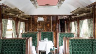 【妙設計】韋斯・安德遜打造的英國列車車廂!在火車上過一把電影主角癮