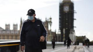 英國連續八日逾四萬宗確診 官員恐冬季日增十萬宗病例