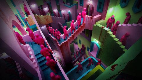 【熱話】拆解《魷魚遊戲》大熱之謎!令人驚嘆的場景設計美學