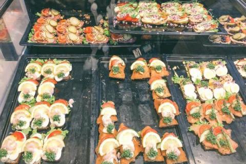 【某隅】丹麥哥本哈根Open-Sandwich-老店--IDA-Davidsen